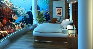 hotel debaixo de agua